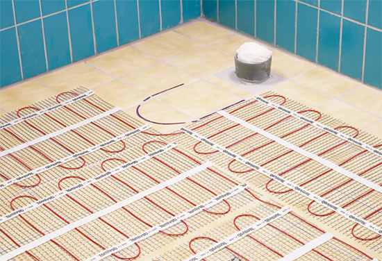 Тёплый пол своими руками электрический под плитку цена