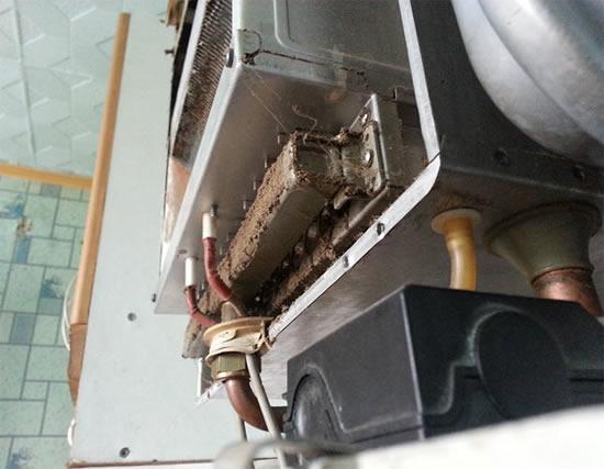 Чистка теплообменника газовой колонки своими руками